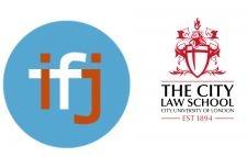 IfJ/City Law School logos